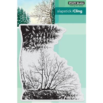 Penny Black Cling Stamps Dressed In Snow - PB40583