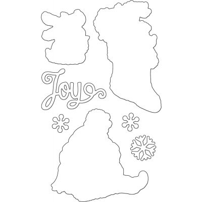 Penny Black Creative Dies Merry Delight Cut Out - 51387