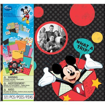 Ek Success Disney Scrapbook Kit 12