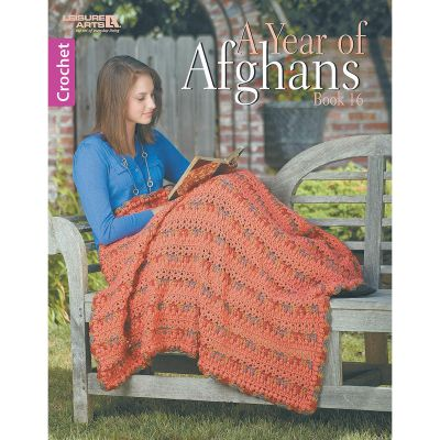 Leisure Arts A Year Of Afghans Book 16 - LA-6863