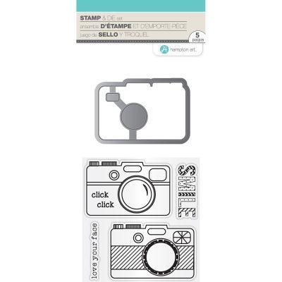 Hot Fudge Stamp & Die Set Smile - SC0768