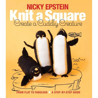 Nicky Epstein Books Knit A Square Create A Cuddly Creature - NEB-21666