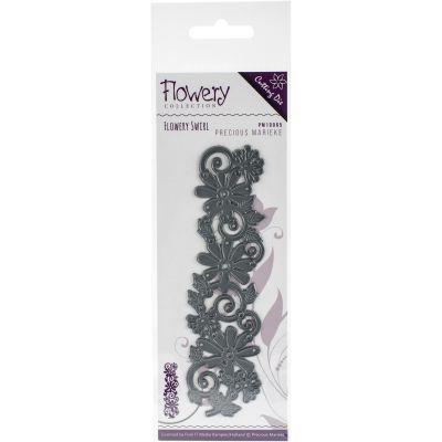 Find It Trading Precious Marieke Flowery Die Swirl - PM10065