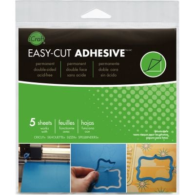 Icraft Easy Cut Adhesive Sheets 5.75