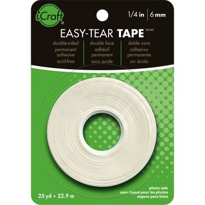Icraft Easy Tear Tape .25