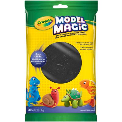 Crayola Model Magic 4Oz Black - 57-4451
