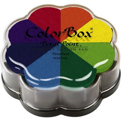Colorbox Pigment Petal Point Ink Pad 8 Colors Pinwheel - 080000-08001