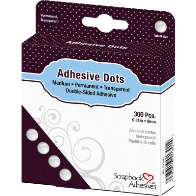 Dodz Adhesive Dot Roll Medium .375