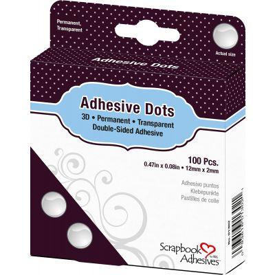 Dodz Adhesive Dot Roll 3D .0625
