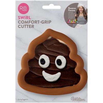 Ro Comfort Grip Cookie Cutter Poop Swirl - RO3725