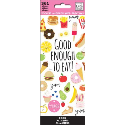 Me & My Big Ideas Stickers Food, 361/Pkg - PPSM-03