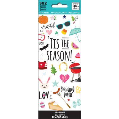 Me & My Big Ideas Stickers Tis The Season, 382/Pkg - PPSM-07
