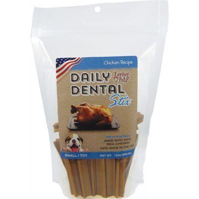 Loving Pets Small Dental Sticks 13Oz Chicken - LP5050