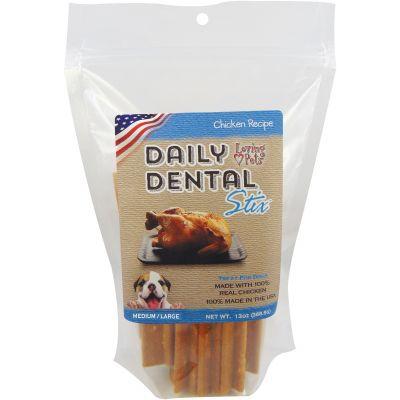 Loving Pets Large Dental Sticks 13Oz Chicken - LP5051