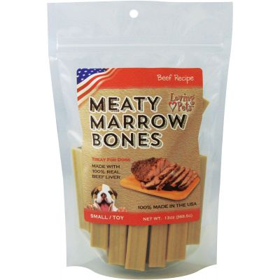 Loving Pets Small Meaty Marrow Bones 13Oz  - LP5054