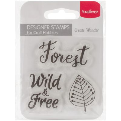 Scrapberry'S Forest Friends Clear Stamps 2.7