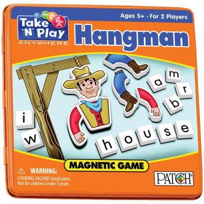 Take 'N' Play Anywhere Magnetic Game Hangman - PP673
