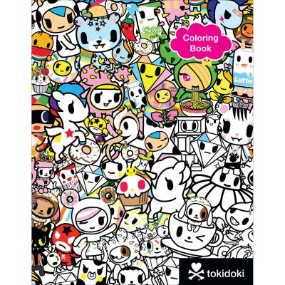 Sterling Publishing Tokidoki Coloring Book - STP-21813
