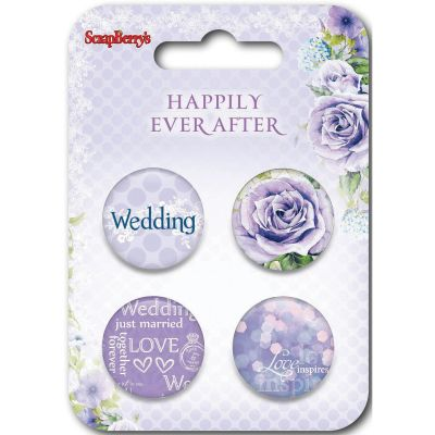 Scrapberry'S Happily Ever After Embellishments #2 - SCB1063