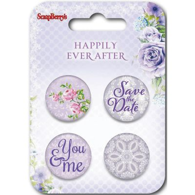 Scrapberry'S Happily Ever After Embellishments #3 - SCB1064