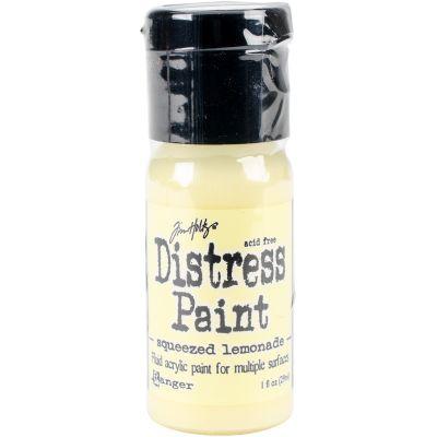 Tim Holtz Distress Paint Flip Top 1Oz Squeezed Lemonade - TDF-53293