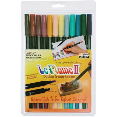Le Plume Ii Double Ended Markers 12/Pkg Victorian - 1122-12-C
