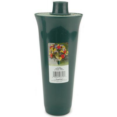 Floral Vase W/Styrofoam Insert 12