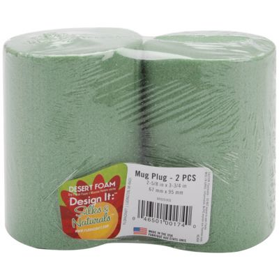 Desert Foam Dry Foam Mug Inserts 2/Pkg 2.625