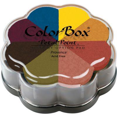 Colorbox Pigment Petal Point Ink Pad 8 Colors Provence - 080000-08013