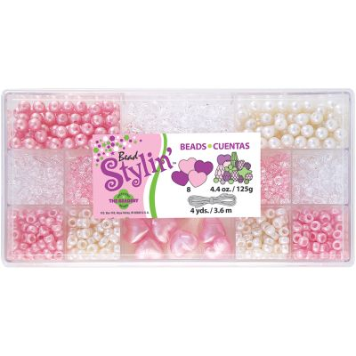 Bead Stylin' Bead Box Kit 4.4Oz Bubble Gum - B6485