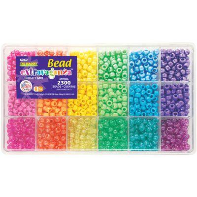 Bead Extravaganza Bead Box Kit 19.75Oz Brights - B6262