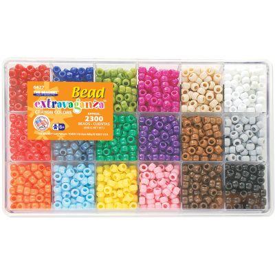 Bead Extravaganza Bead Box Kit 19.75Oz Crayon - B6477