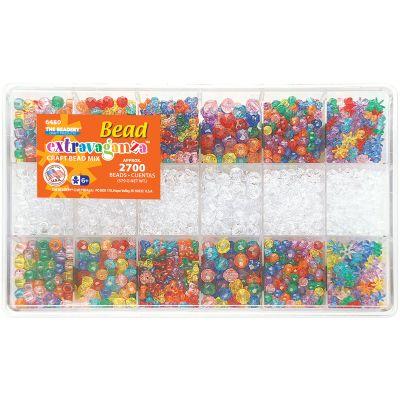 Bead Extravaganza Bead Box Kit 20.4Oz Multicolor - B6480