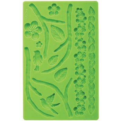 Fondant & Gum Paste Silicone Mold 5.7