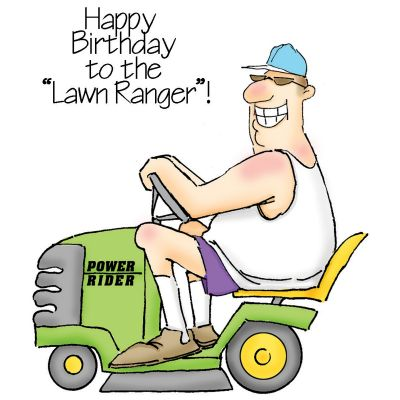 Art Impressions People Cling Rubber Stamps The Lawn Ranger Set - 4102AI