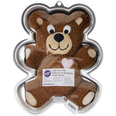 Novelty Cake Pan Teddy Bear 13.5