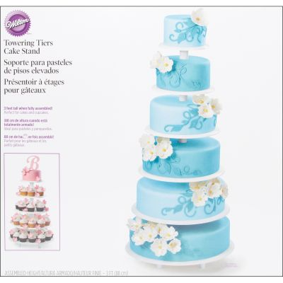 Towering Tiers Cake Stand White 20