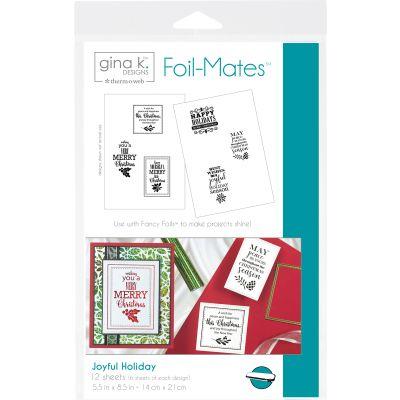 Gina K Designs Foil Mates Background 5.5
