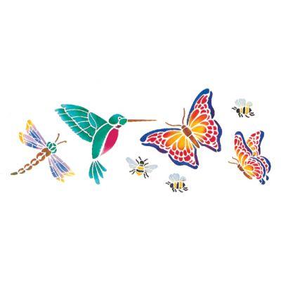 Stencil Magic Decorative Stencils Butterflies & More 5.25