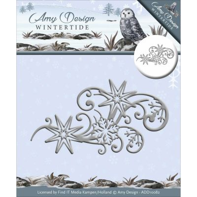 Find It Trading Amy Design Wintertide Die Ice Crystal Swirl - ADD10082