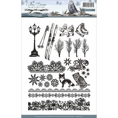Find It Amy Design Wintertide Clear Stamps  - ACS10011