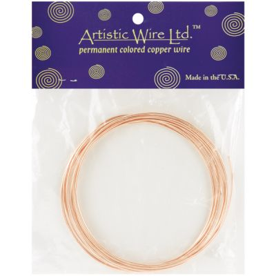 Artistic Wire Copper  14 Gauge, 10' - 14BC10