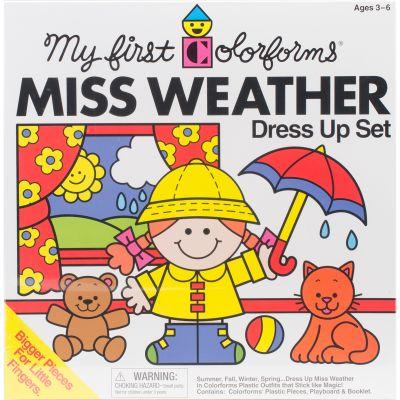 Colorforms(R) Classic Miss Weather Re Stickable Sticker Set  - COLOR423