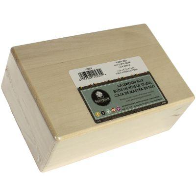 Basswood Hinged Box 8.25