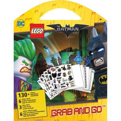 Lego Grab & Go Stickers & Activity Pages Dc The Batman Movie - ST9143