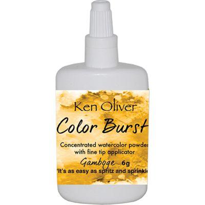 Ken Oliver Color Burst Powder 6Gm Gamboge - KNCPW-7038