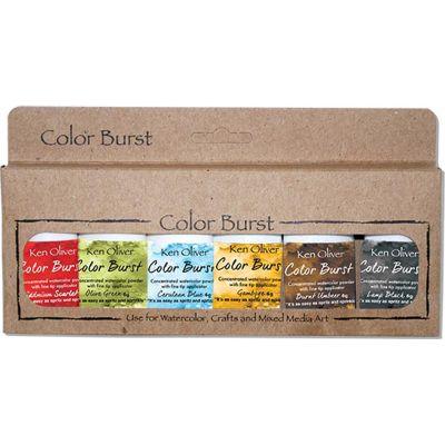 Ken Oliver Color Burst Powder 6/Pkg Moroccan - KNCPW6-7069