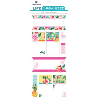 Paper House Life Organized Label Stickers Embrace Today - STLB-0001E