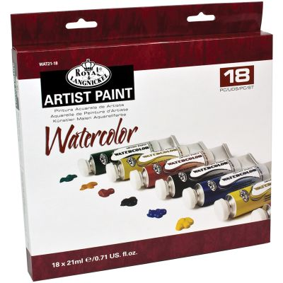 Watercolor Paints 21Ml 18/Pkg Assorted Colors - WAT21-18