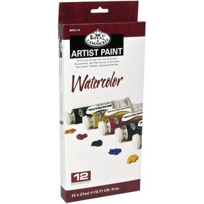 Watercolor Paints 21Ml 12/Pkg Assorted Colors - WAT21-12